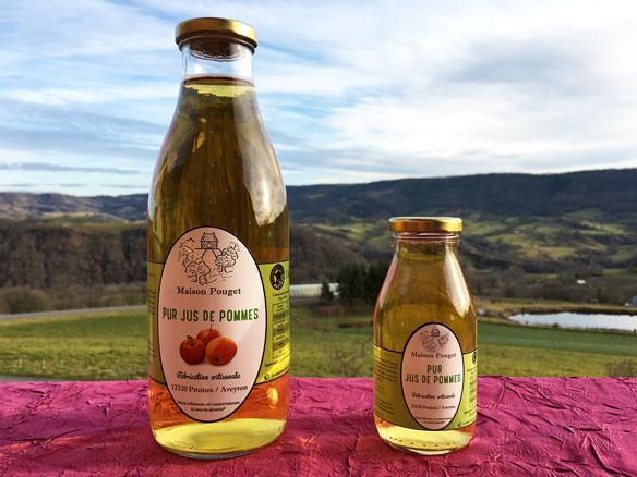 Nos produits maison pouget fabrication de jus de fruits et vente de fruits - Jus de pomme maison ...